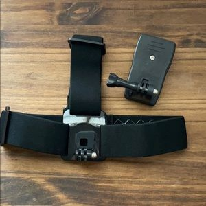 For GoPro Head strap & quick clip MOUNT new